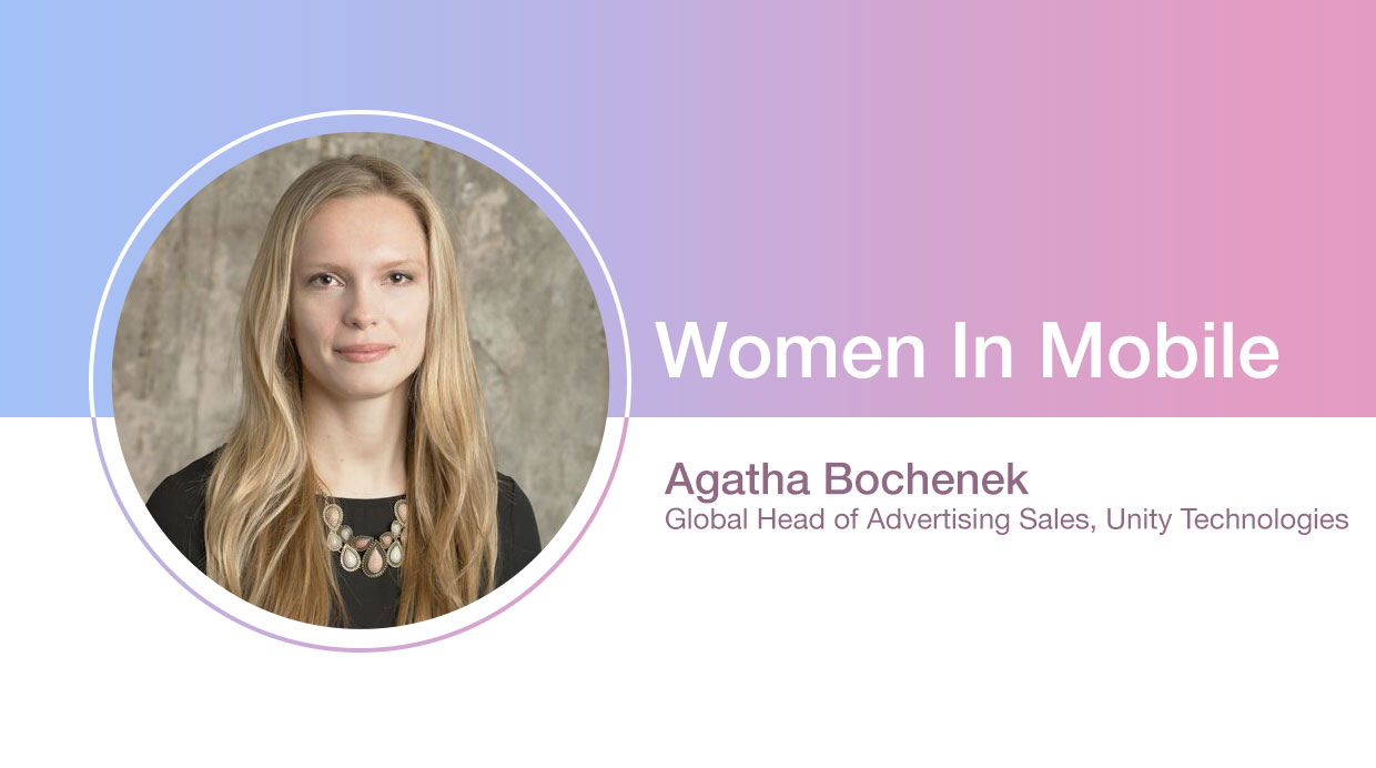 Agatha Bochenek Global Head of Advertising Sales at Unity Technologies at Aarki's Women in Mobile series