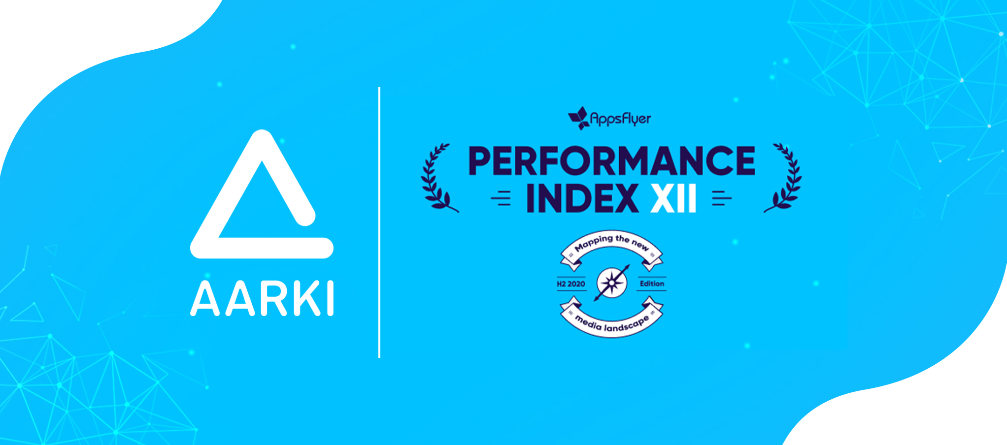 Aarki ranks on the AppsFlyer Performance Index