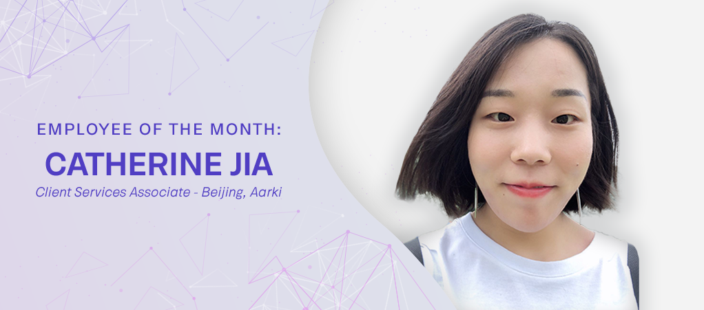 Chatherine Jia Employee of the Month