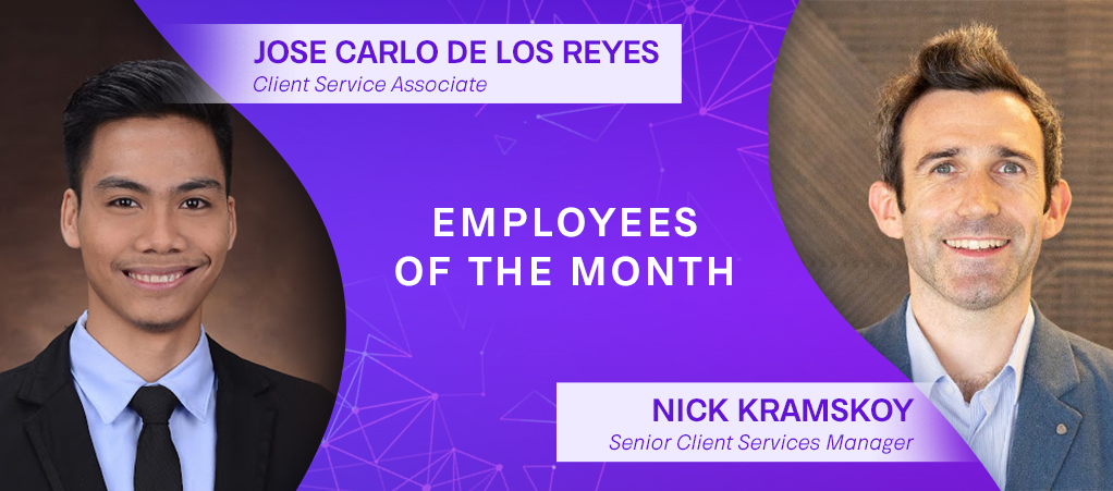 Employee of the Month: JC and Nick's photos