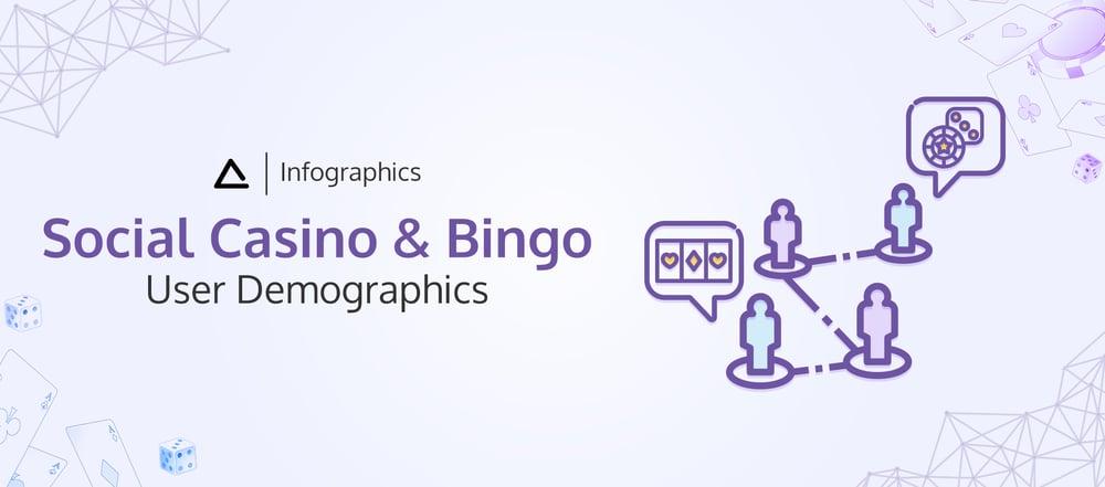 Infographics Social Casino and Bingo user demographics