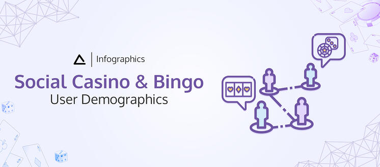 Infographics Social Casino and Bingo user demographics