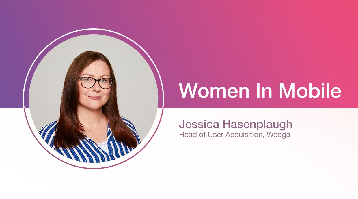 Jessica Hasenplaugh, Head of User Acquisition at Wooga at Aarki's Women in Mobile series