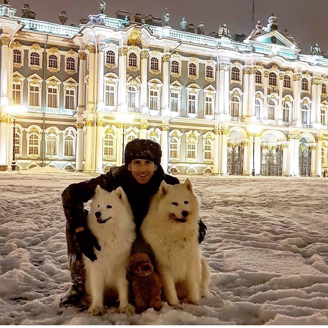 Nick in St Petersburg
