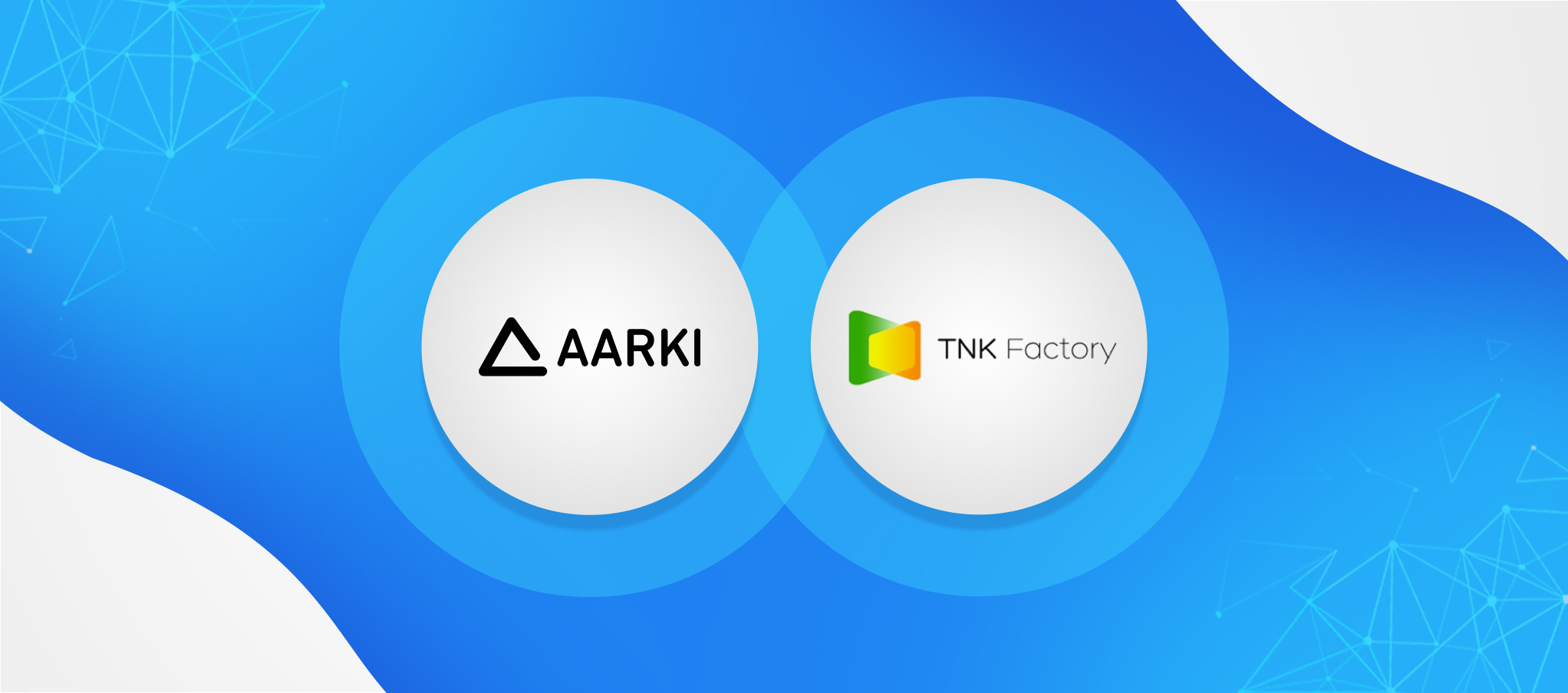 Aarki and TNK integration: logos