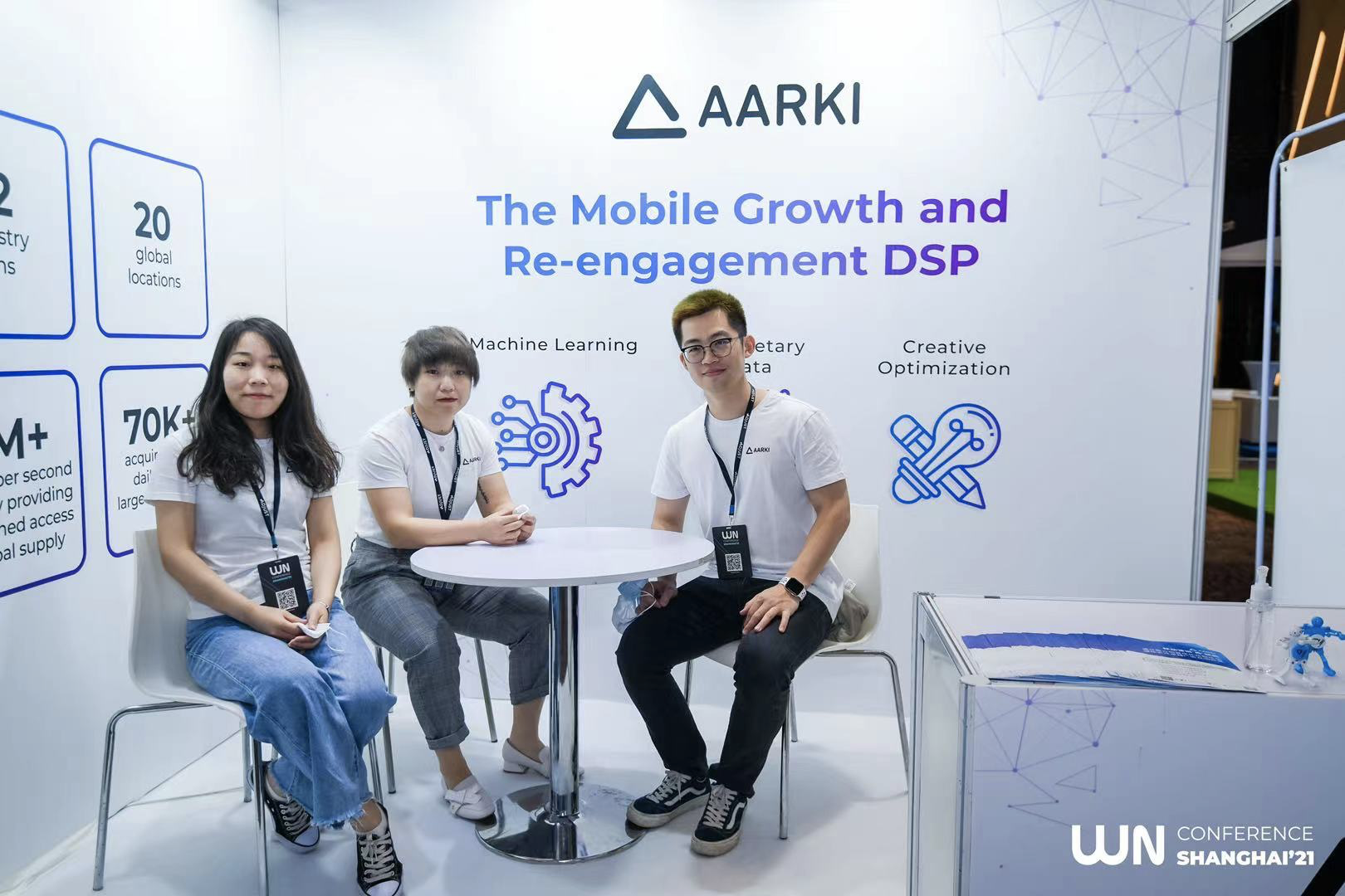 Aarki at White Nights China Online & Shanghai Offline