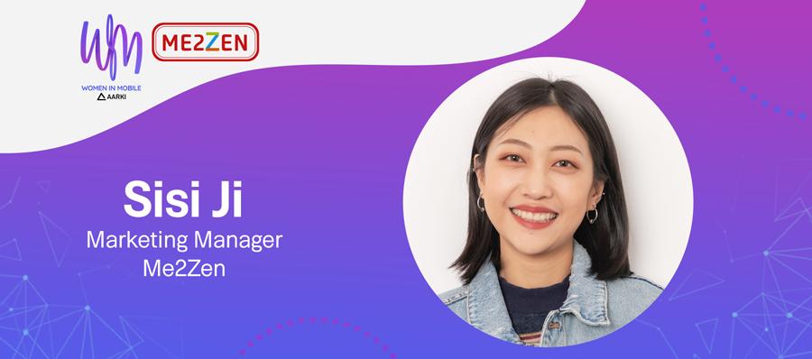 Sisi Ji Marketing Manager at Me2zen at Aarki's Women in Mobile Series