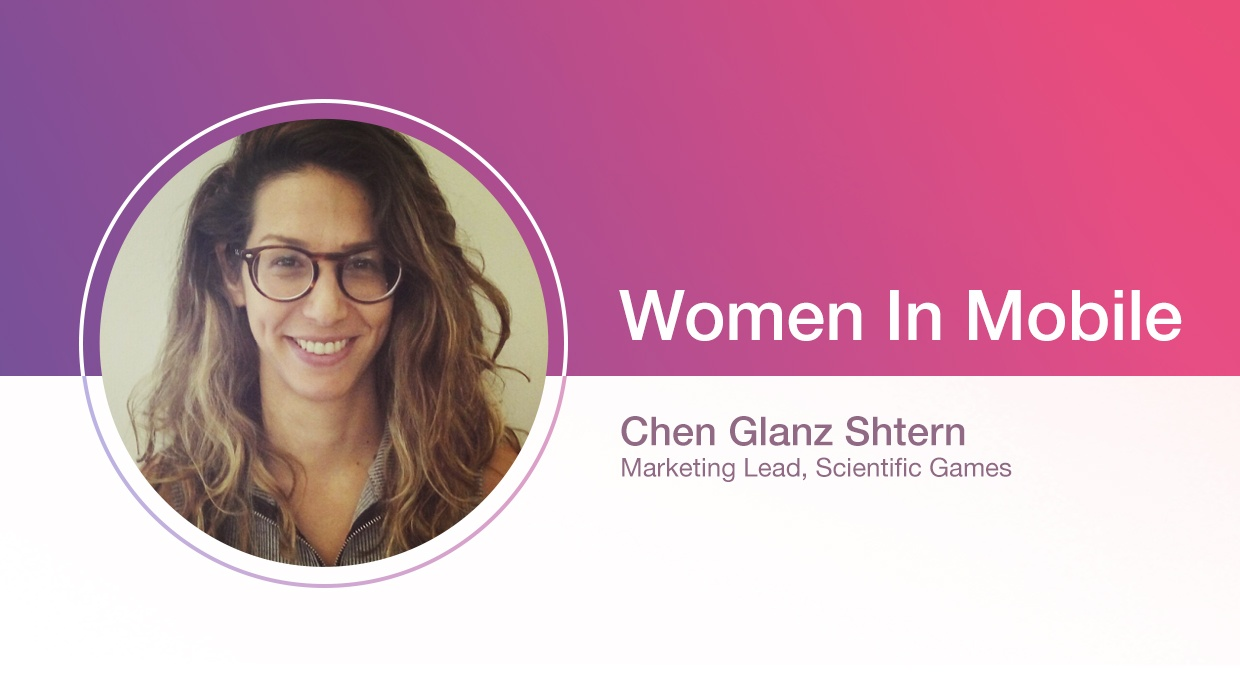 Chen Glanz Shtern, Marketing Lead, at Scientific Games at Aarki's Women in Mobile series