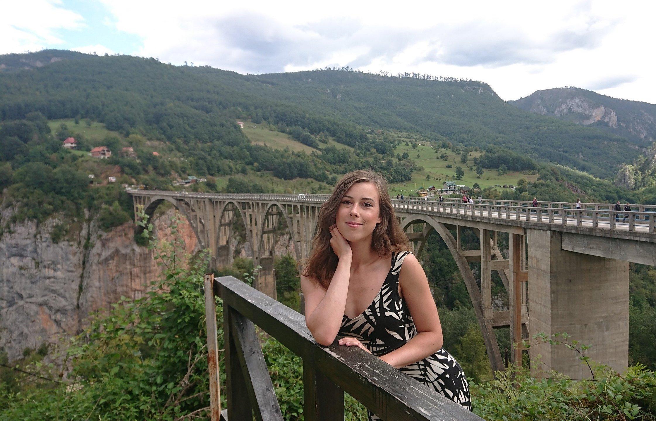 Margarita Filippova, UA Manager at IQ Option travelling