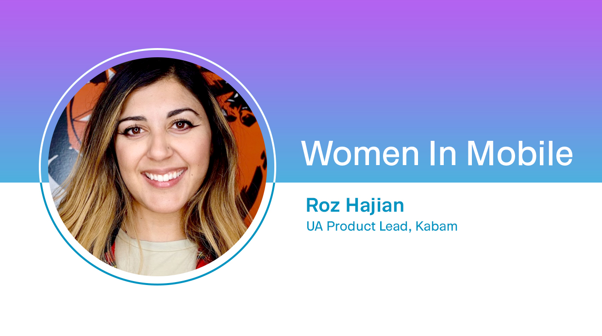 Roz Hajian, UA Product Lead at Kabam at Aarki's Women in Mobile series
