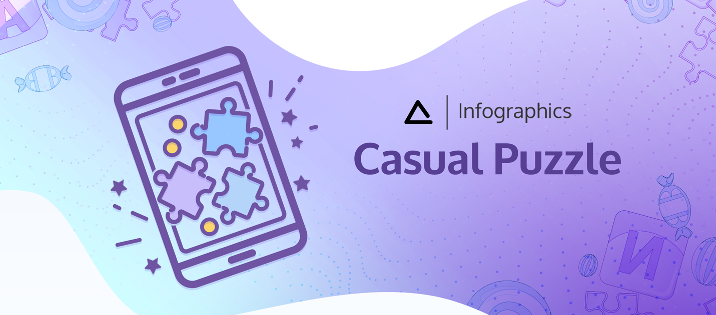 Casual Puzzle Infographics